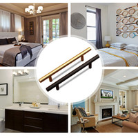 60~400mm Black Brushed Brass Cabinet Hardware 305 Series Bar...