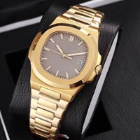 2018 new arrivel yellow gold watch mens luxury watches 7 col...