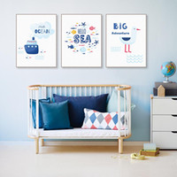 Colorful Kawaii Marine Animal Fish Poster Price Ship Poster ...