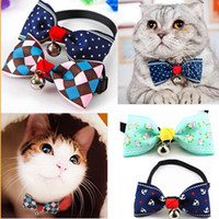 Dog Bow Ties Pet Bow ties Adjustable Dog Cat Neckties Butter...