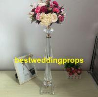 Nuevo estilo de acrílico con cuentas de mesa centros de araña centros de mesa mesa de boda decoraciones bes0296
