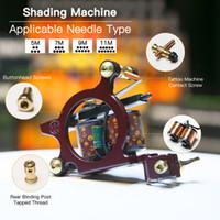 Machine de tatouage Bobines professionnelles Tatouage Gun Shader Gun Machine à colorier WQ4147