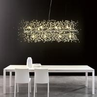 Современные G9 светодиодные люстры акриловые светильники подвесной светильник для столовой гостиной lampadario moderno Lustre Hanglamp Lighting