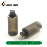 Original GBOX Squonker 8ML E Juice E-Liquid Flaskor Reservtank för GEEKVAPE GBOX 200W MOD Radar RDA Kit Squonk Replacement Food Grade Bottle