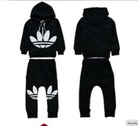2018 brand New autumn tracksuit kids clothing hoodies set ch...