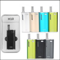 Authentic Hibron H10 Kit de démarrage 650mAh Batterie Bud Touch Vape Batterie 0.8ml H10 Optimisé CE3 Pyrex Cartouche Atomiseur O
