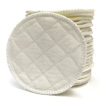 Hot sell 100pcs Soft Cotton Washable Breast Pads Galactorrhe...