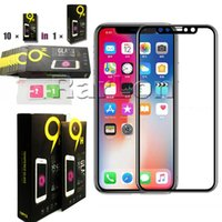 For Iphone XS MAX Tempered Glass 3D Full Cover Screen Protec...