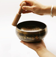Exquisite Tibetan Bell Metal Singing Bowl Striker for Buddhi...