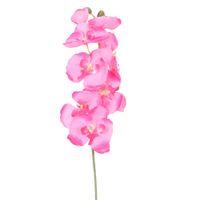 DIY Dekorative Blume Künstliche Schmetterling Orchidee Seidenblume Dekorative Blumen Wohnzimmer Hochzeit Dekoration E5M1