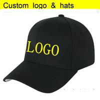 Usine directement personnalisée AdultKids Capuchon Capuchon Curved Peak Sun Snapback personnalisé Logo / Letter Chapeaux de baseball de broderie 3D
