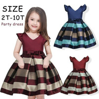 Baby Striped Dress Girl Dress Kids Floral Dresses for Girls ...