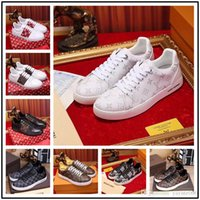 Top Italy Designer Low White Leather Men Women Casual Shoes ...