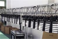 2 adet Amerikan dj matrisi 25 adet kare matris hareket led kafa 5x5 paneli ışık kafası LED ışık hareketli 4in1 ışın RGBW 25x10w
