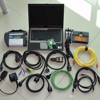 أداة تشخيص MB Star C4 SD Connect for BMW ICOM A2 B C 2In1 مع HDD 1TB خبير الخبراء Lapotp D630 مجموعة كاملة