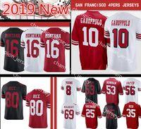 8 Photos Wholesale reuben foster jersey - Mens San Francisco ers Jersey10 Jimmy  Garoppolo Joe Montana Richard Sherman 839e34ecc