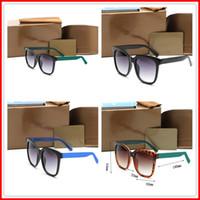 2020 Mulheres Luxo Marca Designer Quadrado Óculos De Sol Quadrido Estilo De Verão Quadro De Proteção UV Lente Com Caixa Original