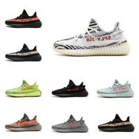 New 350 V2 Running Shoes mens Cream White Butter Semi Frozen...