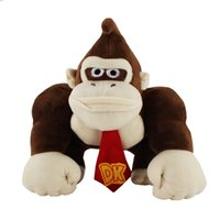 "Hot Sale 9"" 23CM Super Mario Monkey King Kong Plush Stu..."
