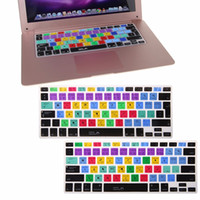 US EU English Silicone Photoshop Shortcut Keys Keyboard Prot...