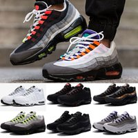 2018 NEW Men Running Shoes 95 Men 95 OG Cushion Navy Sport H...