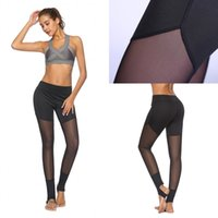 Summer Womens Super Elastic Slim Stirrup Leggings Chinlon Sh...