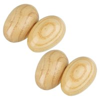 200pcs Egg Shaker Wood Egg Shakers and Musical Instruments f...