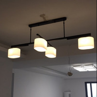 Nordic повернуть подвесной светильник ресторан потолочный подвесной светильник кухня освещение современные светильники блеск барабан подвесное освещение