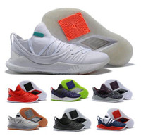 New 5 Basketball Shoes Sneakers Low Cut Mens Man U Air 5s V ...