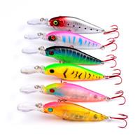 Rote Angelhaken fliehen oder verletzte Köderfische locken 6colors 11cm 11.7g Fliegenfischen-Minnowköder
