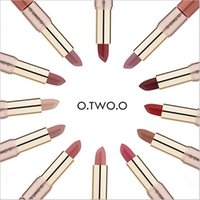 O. TWO. O 12 Colors Matte Long Lasting Liquid Lipstick Makeup ...