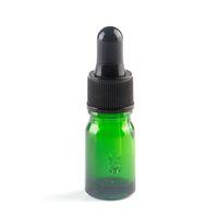 10ml 정유/향수를 위한 녹색 유리제 점적기 병은 유리병을 다시 채울 수 있는 빈 호박색 병 DIY 혼합합니다