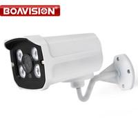 Telecamera AHD CCTV Esterna 720P 1080P Impermeabile 4 Pz Array Leds IR 20 M Visione notturna 1.0MP Telecamera di sorveglianza di sorveglianza analogica