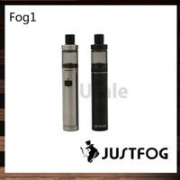 Justfog Fog1 Kiti Ile 1500 mah Pil 2 ml Tankı All-In-One Stil AIO Kiti Çocuk Kilidi Tasarım 100% Orijinal