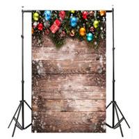 Allloyseed 3x5ft عيد الميلاد بالون ريترو الفينيل استوديو الصور خلفية التصوير الدعائم خلفية بث مباشر تأثير 3d