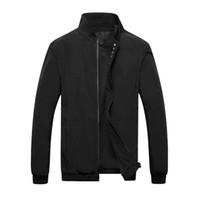 Мода случайные куртки весна зима пальто мужчины спортивная одежда мотоцикл мужские тонкий тонкий Fit бомбардировщик Оптовая куртки для мужской брендовой одежды