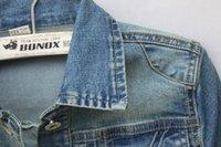 Otoño Mujeres Abrigos Denim Chaquetas Para Mujer Vintage Manga Larga Regular Jackets Femenino Femenino Jeans Abrigo Outwear Ropa