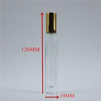 20 adet / grup 10 ml Kalın GLass Parfüm Şişeleri Sprey Şişesi Sprey Pompa Şişe Seyahat Doldurulabilir Püskürtücü Ile Cam Parfüm Şişesi