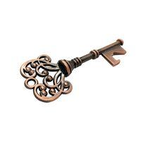 Vintage llave en forma de cerveza abridor de botella favor de la boda de recuerdo fiesta de aniversario regalo de apertura de vino herramientas para bar-ware