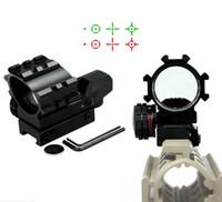 1x33 roter grüner Punkt Reflexvisier Holographische 4 Absehen Zielfernrohrmontage Jagd