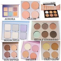 Glow Kit Bronzers & Highlighters Makeup Face Powder Blusher ...