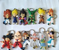 12 Styles Dragon Ball Z keychains Classic Cartoon Dragonball...