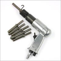 Outils pneumatiques de rivets d'air d'air de pistolet d'air de rivet pour les rivets creux solides, outils de rivetage d'air de machine