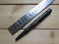 Hohe Quatily CNC bearbeitete hohle TC4 Titanlegierungs-taktische Stift-Überlebens-Verteidigungs-Sicherheitstasche EDC Werkzeug-Kugelschreiber