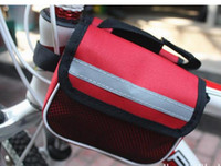 Bisiklet Yolu Dağ Bisikleti eyer çantası Bisiklet Spor Çerçeve Ön Tüp Çift Taraflı Çanta Paketi Cep Telefonu Anahtar Kutusu Paketi Kılıfı