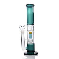 bulleur en verre épais avec matrice perc perceuse narguilé canalisations d \ 'eau pour fumer joint de 18mm