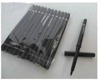 Бесплатная Доставка! Новый карандаш для глаз карандаш водонепроницаемый черный тени для век карандаш для глаз 2 в 1 карандаш (12 шт / Лот)