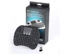 2.4 جرام اللاسلكية i8 يطير الهواء ماوس البسيطة لوحة المفاتيح التحكم عن لوحة اللمس المحمولة لوحة المفاتيح airmouse للتلفزيون مربع الكمبيوتر المحمول اللوحي