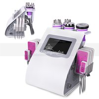 Promotion! 6 in 1 cavitation rf vacuum machine lipo laser fa...