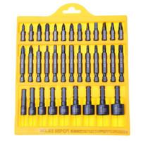 Destornillador de destornillador de aleación de acero 35pcs conjunto herramienta de reparación de electrodomésticos del coche Kit de herramienta de mano multifunción